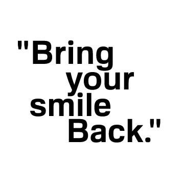 Bring your smile back - slogan Dr. Martin Schwarz